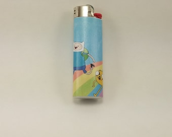 Custom Adventure Time Finn and Jake the Dog Lighter
