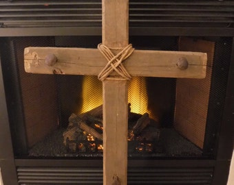 Large Wooden Cross (3'x2')