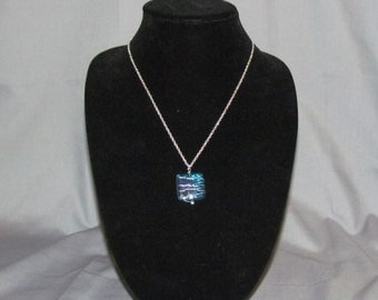 Square Wirewrapped Necklace