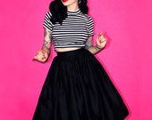 PRE-ORDER - Vixen Classic Black Full Skirt - Vixen by Micheline Pitt