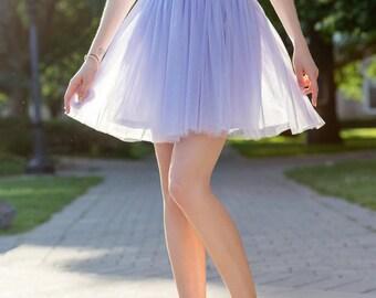Lilac tulle skirt; Adult tutu skirt; Tulle skirt women; Mini tulle skirt; Bridesmaids dress; Mini tutu skirt; Bridesmaids skirt
