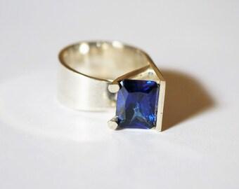 Handmade Sterling Silver Ring 10g