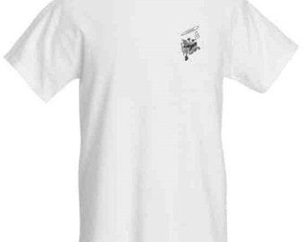 White T-Shirt FALLEN GRUB