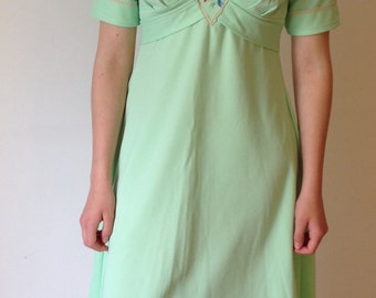 french vintage 70s dress