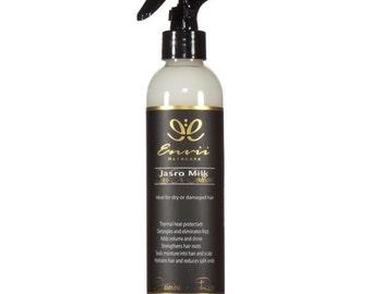 Jasro Milk Leave-In Conditioner-Rose & Jasmine, Keratin Conditioner, Deep Moisture, Organic Conditioner, Natural Conditioner, Curly Hair