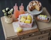 Dolls House Miniature Lemon Bars