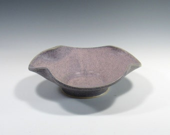 Decorative Bowl - Decorative Ceramic Bowl - ikebana bowl - Centerpiece - Ceramic serving platter - wall decor - ceramic bowl - accent piece