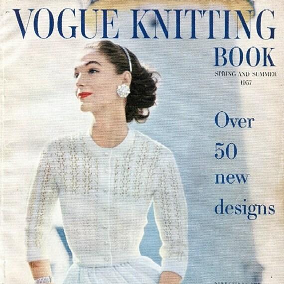 1957 Vogue Knitting Book PDF ALL 59 patterns & front matter