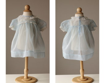 1950s Spring Dot Dress~Size 12 Months