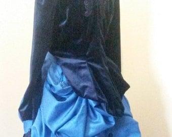 Victorian Velvet Bolero Jacket, Steampunk Bolero Jacket, Custom Bolero Jacket