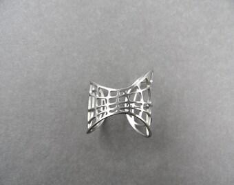 stainless steel warp ring, space ring, wraparound ring, wire ring, fishnet ring