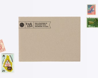 Custom Return Address Rubber Stamp