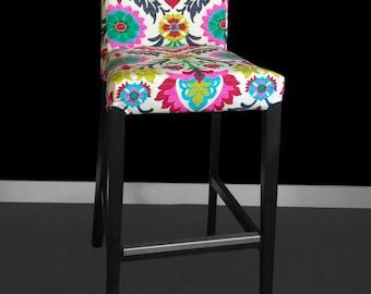 IKEA HENRIKSDAL Bar Stool Chair Cover - Santa Maria Desert Flower
