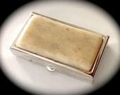 "Tiny Pill Case - Pill Box - Pocket Pill Case - Medicine Pill Case - 2 1/8"" x 1 3/16"" x 7/16 - Engraving Pill Case - Birth Control Pill Case"