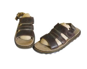Vintage Doc Marten Sandal 14 Men Brown Sandal 90s Dr Martens Fisherman Sandal Doc Martins Dr Martins Brown Doc Martens Men Shoe Summer