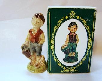 Wade Figurine JACK Large Wade Nursery Rhyme Figurines Wade Whimsies from Jack and Jill with Box Miniature Figurine