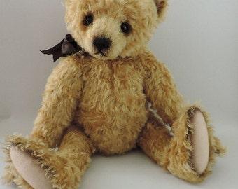 Edmund, OOAK Mohair Artist Bear, Aleta Breese