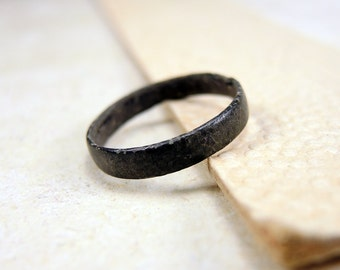 Antique Brass Ring Antique Wedding Ring - j16