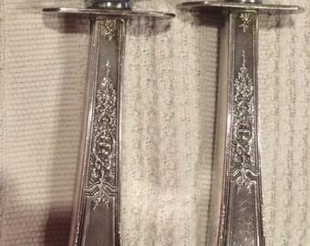 1847 Rogers Bros ANCESTRAL Carving Set Fork Knife