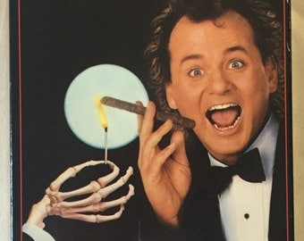 Scrooged (1988) VHS tape