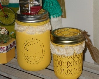 Yellow Jar Storage set