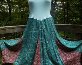 Fun Up-cycled Dancing dress - one of a kind!