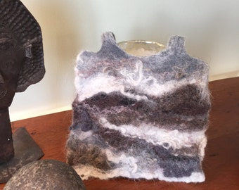 landscape, felting, handmade, felted wool, customize