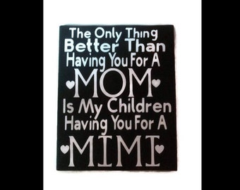 Canvas Signs, Gifts For Mom, Mothers Day From Daughter, Mothers Days Gift, Mothers Birthday, Signs With Quotes, Signs With Sayings