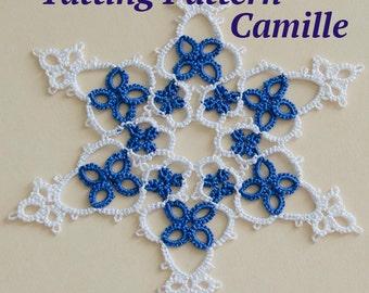 Snowflake Tatting Pattern Camille