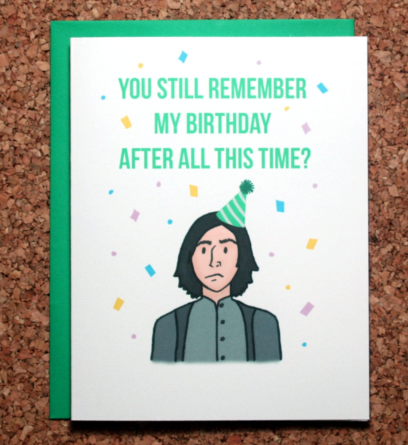 Harry Potter Birthday Card Snape Always Birthday After all