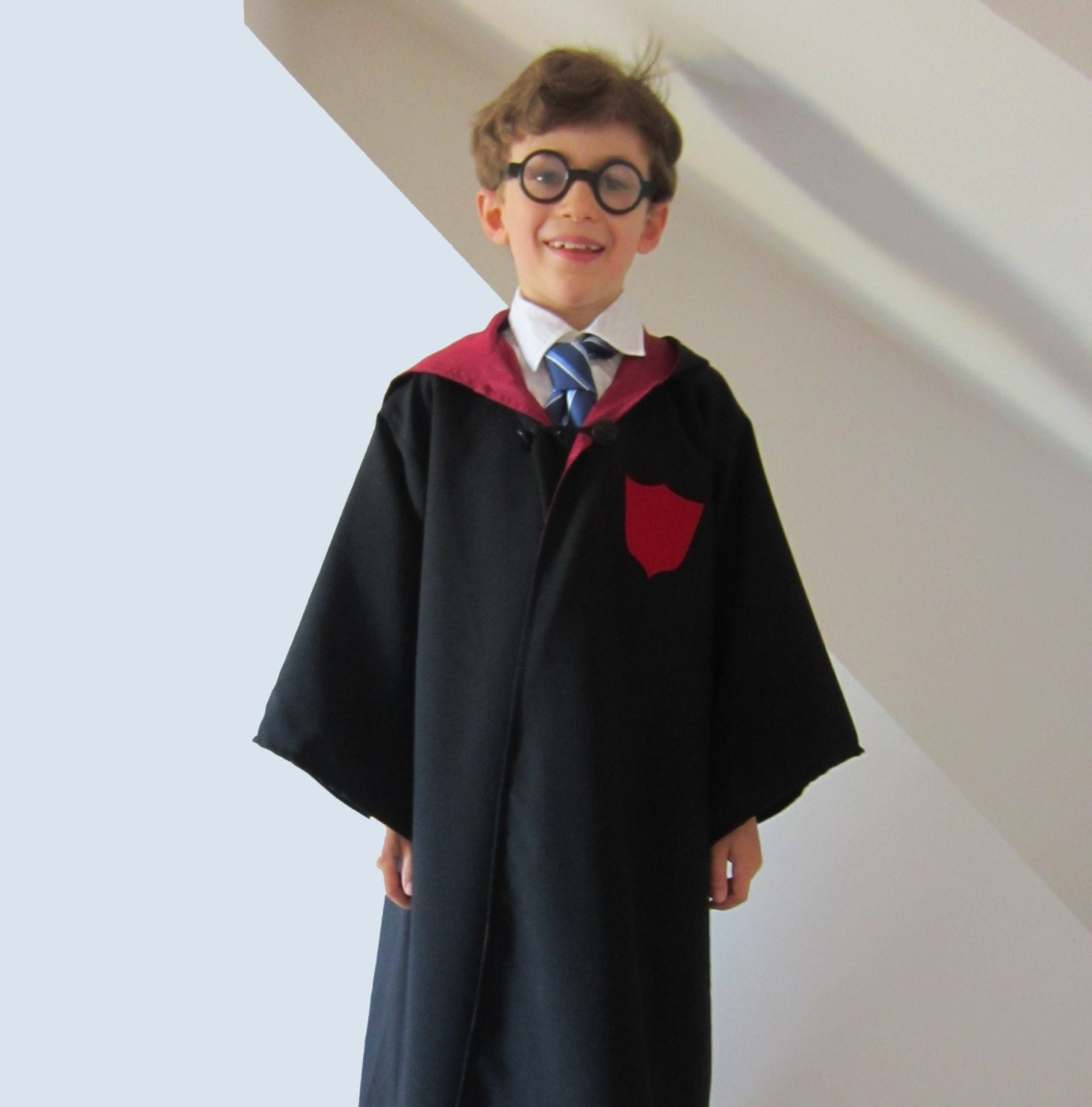 Wizard Cloak not Harry Potter, Robe Lined Sewing Pattern Childrens ...