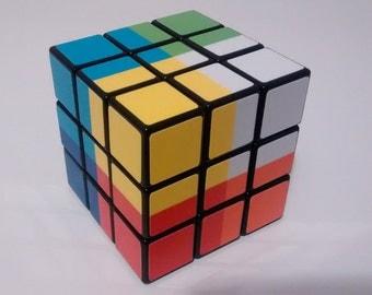 8 Color Corner Rubik's Cube Stickers