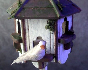 Bird Dove miniature Dollhouse scale 1:12 sold by unit