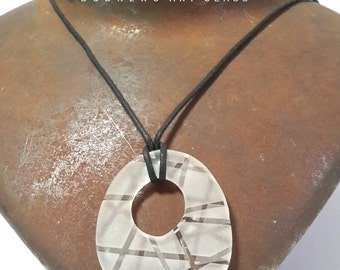 Pebble necklace pendant