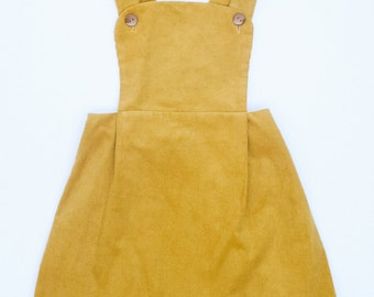 Jumper in Mustard Yellow Corduroy