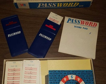 Vintage Password Game