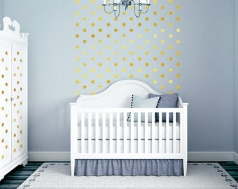 polka dot nursery etsy. Black Bedroom Furniture Sets. Home Design Ideas