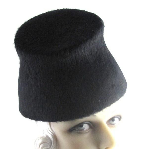 Art Deco 1930s Oh Director Long Hair Fur Felt Toque This is a Custom Order