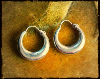Ethnic Hoop Earrings - XS