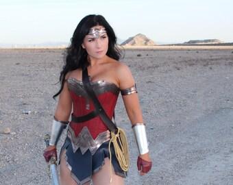 New Wonder Superhero Woman Corset
