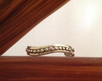 Cuff Bracelet in Brass.