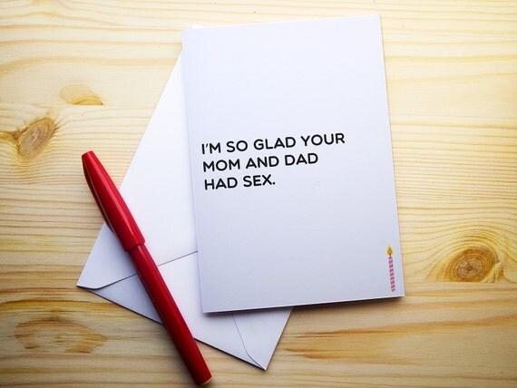 Dirty Birthday Card Fo...