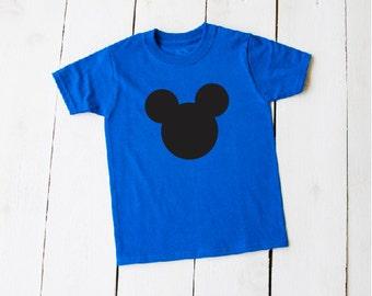Large MICKEY FACE TShit Disney Vacation Trip Shirts Simply Mickey Design