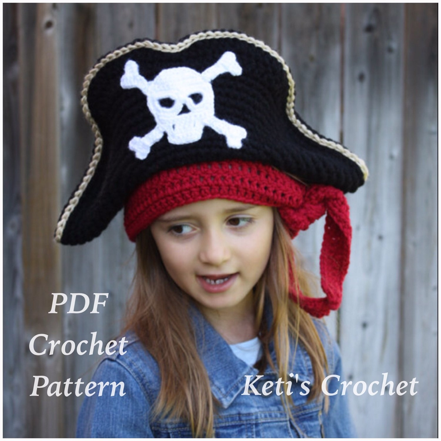 Crochet patternkids pirate hatpirate hat crochet zoom bankloansurffo Image collections