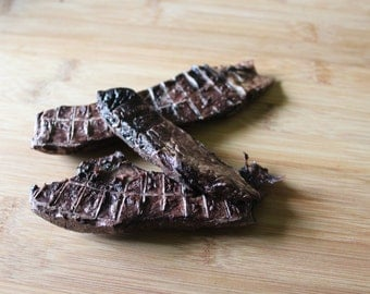 Dehydrated beef lung treats