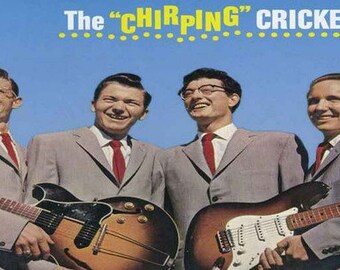 Buddy Holly and The Crickets Rare Poster