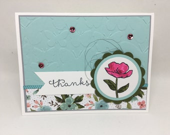Thank You cards, Stampin Up, Handmade, Greeting Cards