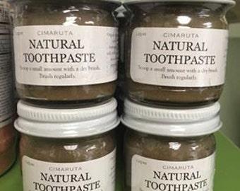 Living Clay Bentonite Manuka Natural Toothpaste 1.25 oz
