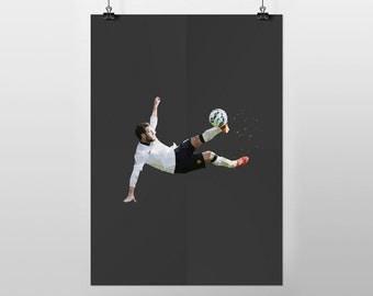 Juan Mata (A3 POSTER PRINT)