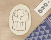 Fist Cookie Cutter - Geek Cookie Cutter Superhero Cookie Cutter Super Hero Nerd Comic Gift Baking Supply - 3D Printed